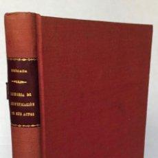 Libros antiguos: MEMORIA PUBLICADA POR EL CONTRA-ALMIRANTE… EN JUSTIFICACIÓN DE SUS ACTOS DURANTE EL DESEMPEÑO DEL MA. Lote 123237518