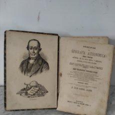 Libros antiguos: PRINCIPIOS DE GEOGRAFÍA ASTRONÓMICA 1879. Lote 269224683