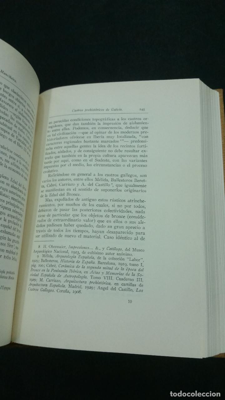 Libros antiguos: 1934 - Anuario del cuerpo de Archiveros, Bibliotecarios y Arqueólogos. 3 tomos. Homenaje A MÉLIDA - Foto 5 - 269230433