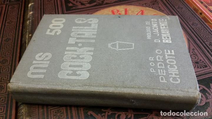 Libros antiguos: 1933 - PEDRO CHICOTE - Mis 500 cocktails - 1ª ED., DEDICADO - Foto 2 - 269242553
