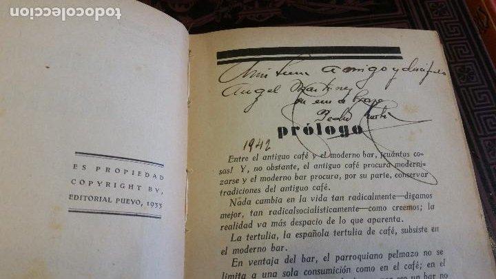Libros antiguos: 1933 - PEDRO CHICOTE - Mis 500 cocktails - 1ª ED., DEDICADO - Foto 5 - 269242553
