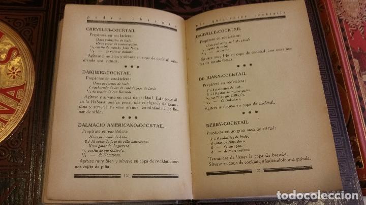 Libros antiguos: 1933 - PEDRO CHICOTE - Mis 500 cocktails - 1ª ED., DEDICADO - Foto 6 - 269242553