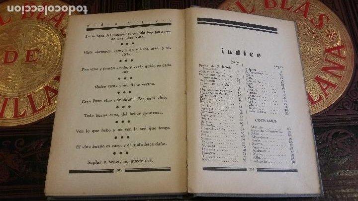Libros antiguos: 1933 - PEDRO CHICOTE - Mis 500 cocktails - 1ª ED., DEDICADO - Foto 7 - 269242553