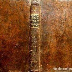 Libros antiguos: CASAS, NICOLÁS. ELEMENTOS DEL EXTERIOR DEL CABALLO Y JURISPRUDENCIA VETERINARIA. 1832.. Lote 269288318