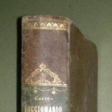 Libros antiguos: CORTES Y MORALES, BALBINO: DICCIONARIO DOMESTICO. C. BAILLY-BAILLIÈRE 1877. Lote 269294568