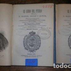 Libros antiguos: HENAO Y MUÑOZ, MANUEL: EL LIBRO DEL PUEBLO I Y II. MADRID, PEDRO NUÑEZ 1872. 2 VOLS.. Lote 269299568