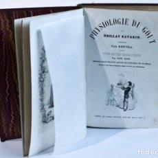 Libros antiguos: PHYSIOLOGIE DU GOUT - AÑO 1848. Lote 269317803