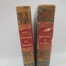 Libros antiguos: HISTORIA DE ESPAÑA. DR. D. MANUEL MERRY Y COLON. 4 TOMOS EN 2 VOL. SEVILLA. 1886. LEER. VER FOTOS.. Lote 269351688