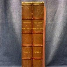 Libros antiguos: TOMOS V VI MUSEO ESPAÑOL DE ANTIGUEDADES 1875 JUAN DE DIOS DE LA RADA 44X31CMS. Lote 288606703
