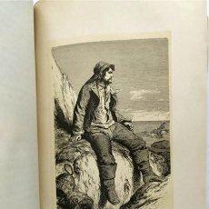Libros antiguos: LOS TRABAJADORES DEL MAR. TOMO PRIMERO. VÍCTOR HUGO. 1866. Lote 269414173