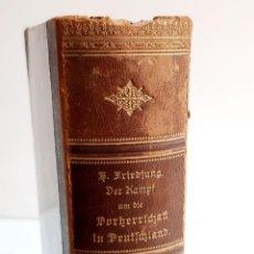 Livros antigos: 1902 LIBRO ALEMAN. Lote 269444863