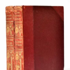 Libros antiguos: PARIS SKETCH BOOK. IRISH SKETCH BOOK. CHARACTER SKETCHES. EASTERN SKETCHES - WILLIAM M. THACKERAY. Lote 269507853