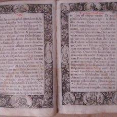 Libros antiguos: POST INCUNABLE, ORLAS XILOGRÁFICAS, GRABADO, 20 PÁGS. Lote 269574203