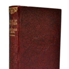 Libros antiguos: A TALE OF TWO CITIES + A CHRISTMAS CAROL - CHARLES DICKENS. Lote 269585663
