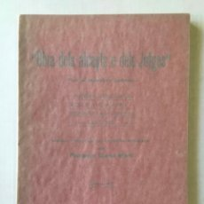 Libros antiguos: OBRA DELS ALCAYTS E DELS JUTGES. - JACOBO, MAESTRO.. Lote 123202946