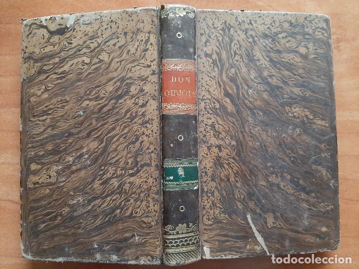 1832 DON QUIJOTE - CERVANTES / TOMO I - 4 LÁMINAS (Libros Antiguos, Raros y Curiosos - Literatura Infantil y Juvenil - Otros)