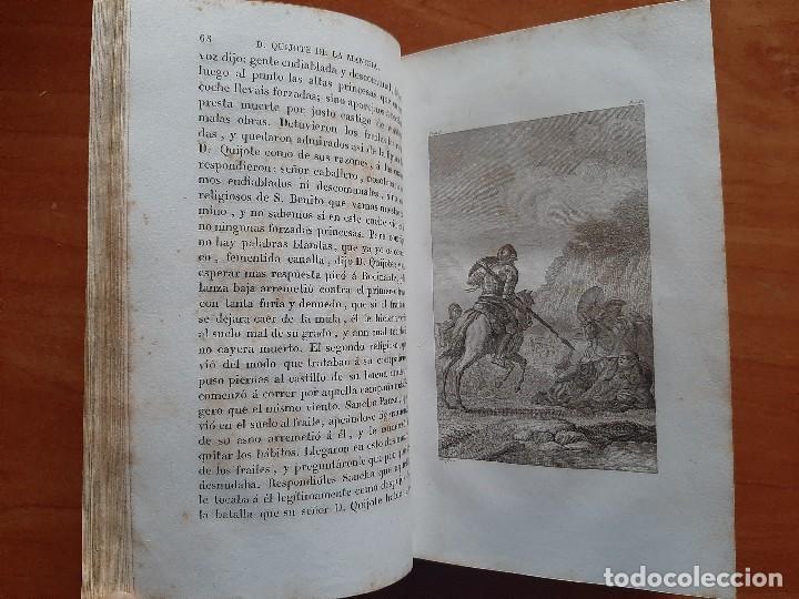Libros antiguos: 1832 DON QUIJOTE - CERVANTES / TOMO I - 4 LÁMINAS - Foto 4 - 269626258