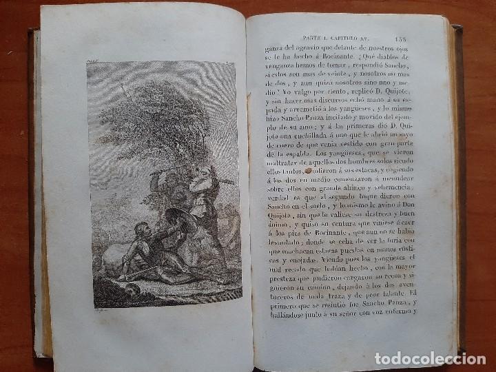 Libros antiguos: 1832 DON QUIJOTE - CERVANTES / TOMO I - 4 LÁMINAS - Foto 5 - 269626258