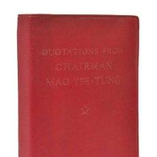 Livres anciens: QUOTATIONS FROM CHAIRMAN - MAO TSE-TUNG. 1ª ED. 1966 PEKIN. Lote 269626498