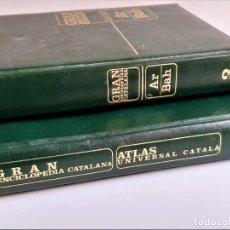 Livros antigos: ATLAS UNIVERSAL CATALA + TOMO 3 GRAN ENCICLOPEDIA CATALANA. Lote 269683363
