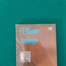Libri antichi: EL MONTE ANALOGO RENE DAUNAL. Lote 269703523