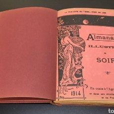 """Libros antiguos: ANTIGUO TOMO ALMANACH ILLUSTRE DU """"SOIR,,. BÉLGICA, AÑO 1914. CARGADO DE ILUSTRACIONES MODERNISTAS.. Lote 269727153"""