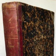 Libros antiguos: [COLECCIÓN FACTICIA CON ALMANAQUES DE 1864 A 1870].. Lote 269808193