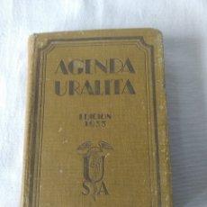 Libros antiguos: AGENDA URALITA AÑO 1933 POR A. DE LANDALUCE. Lote 269833173