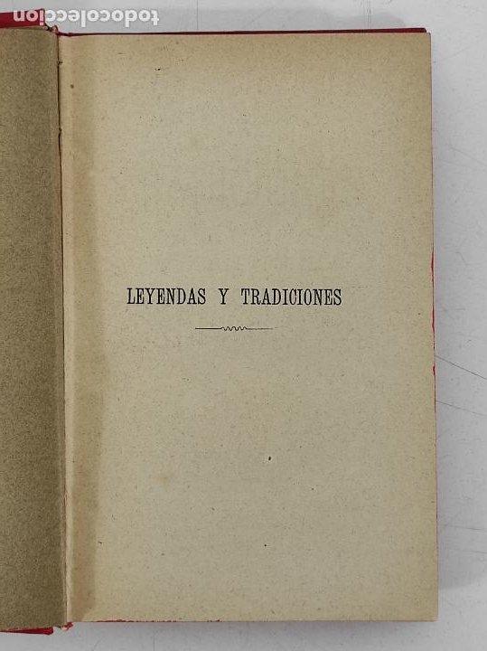 Libros antiguos: Leyendas y Tradiciones - Francisco de P. Capella - 2 Tomos - Imp La Hormiga de Oro - 1887 - Foto 6 - 269935328