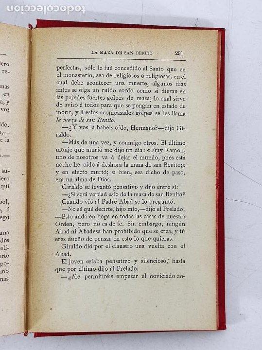 Libros antiguos: Leyendas y Tradiciones - Francisco de P. Capella - 2 Tomos - Imp La Hormiga de Oro - 1887 - Foto 9 - 269935328