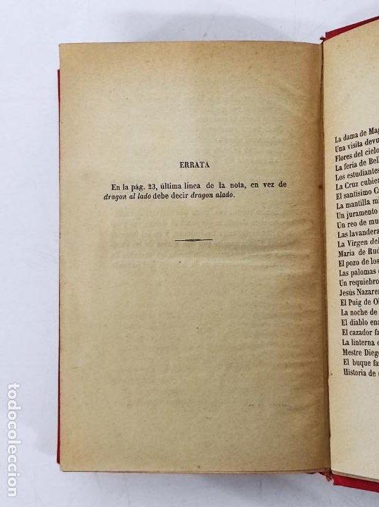 Libros antiguos: Leyendas y Tradiciones - Francisco de P. Capella - 2 Tomos - Imp La Hormiga de Oro - 1887 - Foto 17 - 269935328