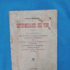 Libros antiguos: ENFERMEDADES DEL VINO - LUCAS GERHART- 1902. Lote 269974008