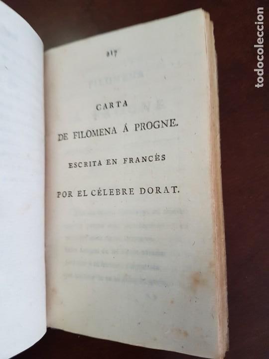 Libros antiguos: Cartas de Dorat - S. XIX - Foto 9 - 270096553