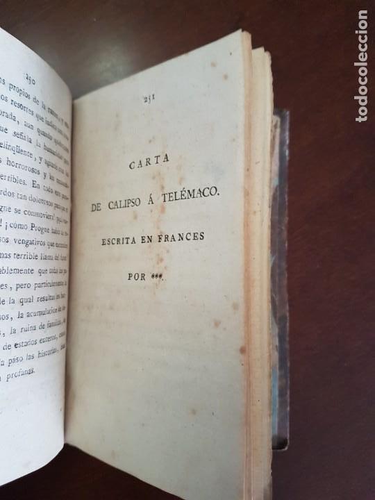 Libros antiguos: Cartas de Dorat - S. XIX - Foto 11 - 270096553