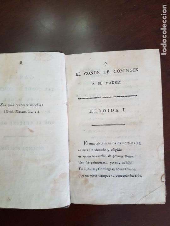 Libros antiguos: Cartas de Dorat - S. XIX - Foto 2 - 270096553