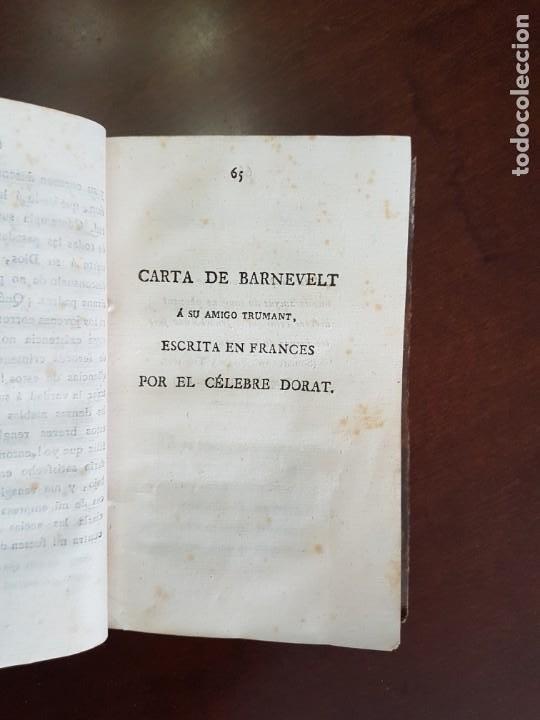 Libros antiguos: Cartas de Dorat - S. XIX - Foto 3 - 270096553