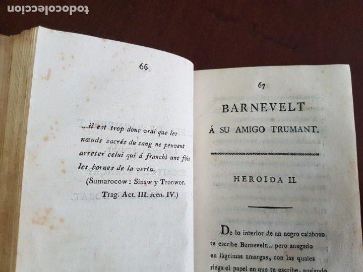 Libros antiguos: Cartas de Dorat - S. XIX - Foto 4 - 270096553