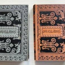 Libros antiguos: JOVELLANOS OBRAS ESCOGIDAS BIBLIOTECA CLÁSICA TOMOS I Y III. Lote 270119108