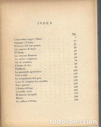 Libros antiguos: Histories de la carn i de la sang / A. Esclasans. Sabadell : La Mirada, 1928. 15x12cm. 208 p. - Foto 3 - 37189157