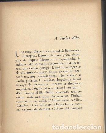 Libros antiguos: Histories de la carn i de la sang / A. Esclasans. Sabadell : La Mirada, 1928. 15x12cm. 208 p. - Foto 4 - 37189157