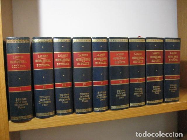 Libros antiguos: HISTORIA GENERAL DE BIZCAYA LABAYRU 1968, 8 TOMOS,+ APÉNDICE ... OFERTA - Foto 2 - 270217643