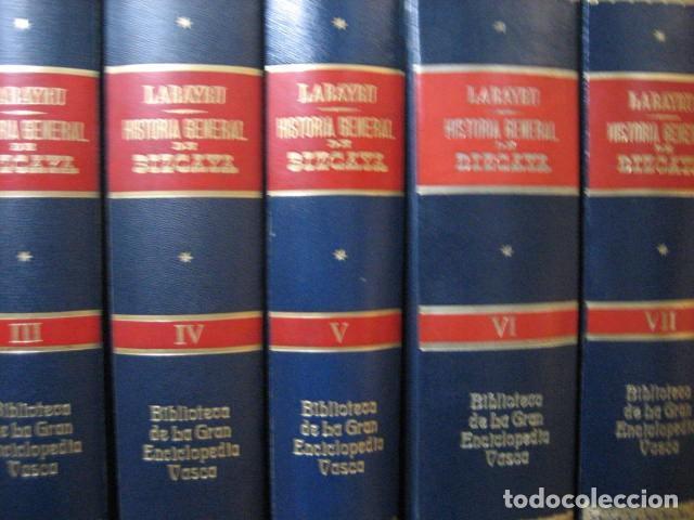 Libros antiguos: HISTORIA GENERAL DE BIZCAYA LABAYRU 1968, 8 TOMOS,+ APÉNDICE ... OFERTA - Foto 4 - 270217643
