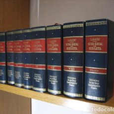 Libros antiguos: HISTORIA GENERAL DE BIZCAYA LABAYRU 1968, 8 TOMOS,+ APÉNDICE ... OFERTA. Lote 270217643