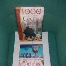 Libros antiguos: RECETAS DE COCINA Y 1000 COCTELES. Lote 270235128