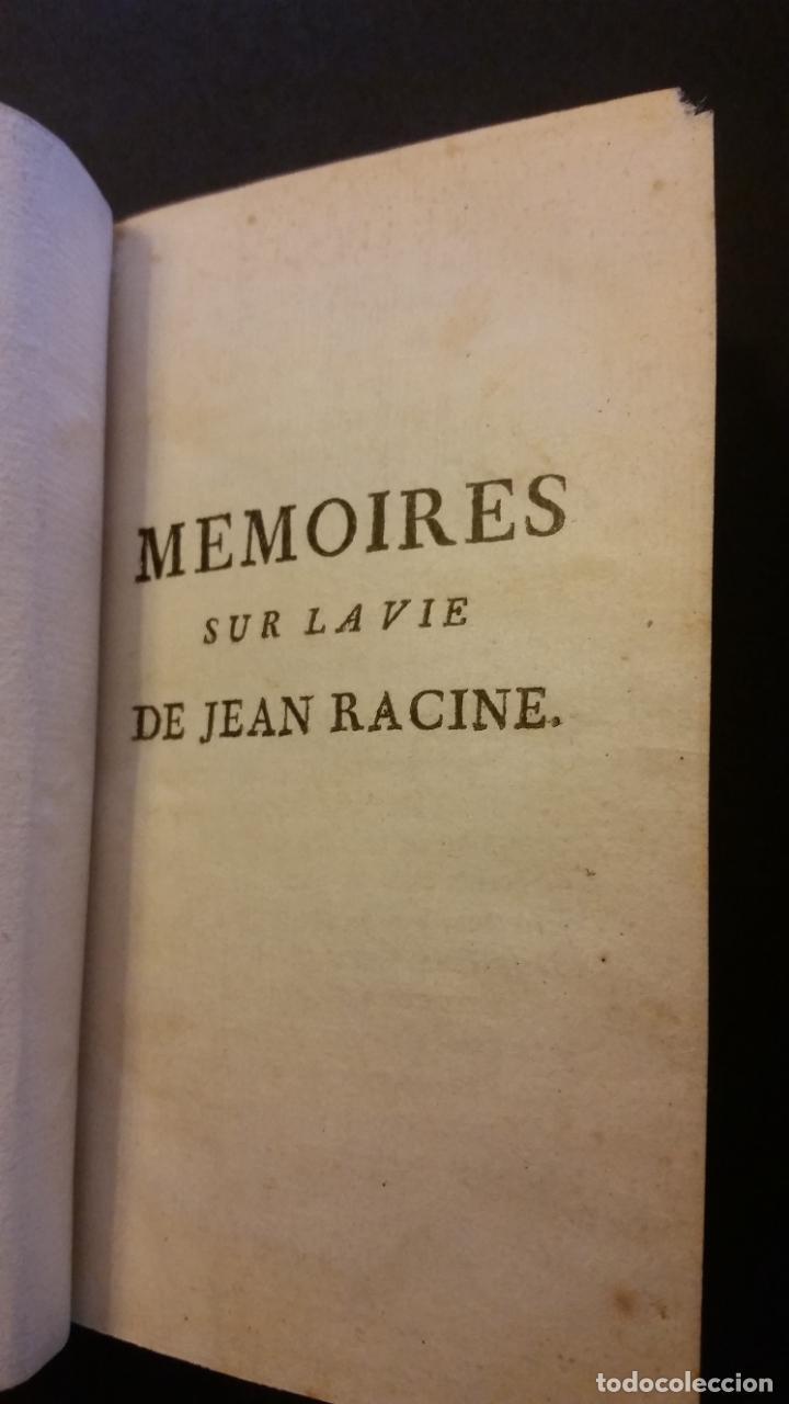 Libros antiguos: 1747 - JEAN RACIN - OEUVRES - 5 TOMOS, RACINE - Foto 3 - 270260618