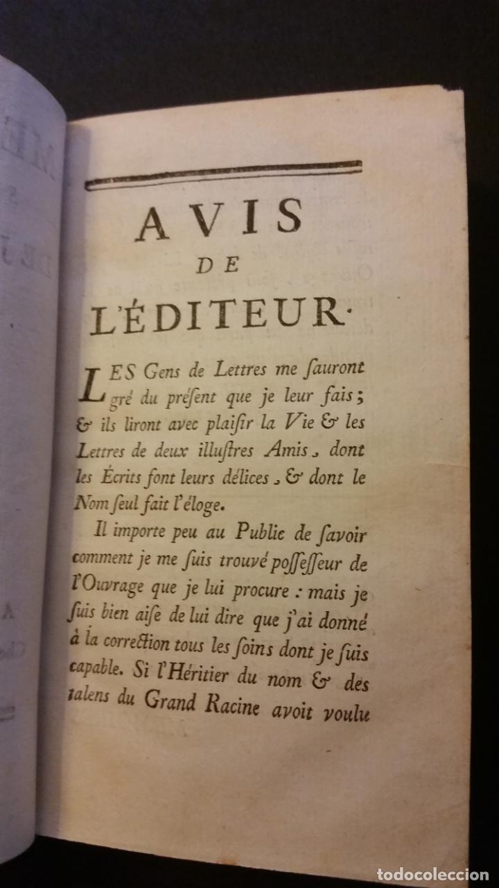 Libros antiguos: 1747 - JEAN RACIN - OEUVRES - 5 TOMOS, RACINE - Foto 5 - 270260618