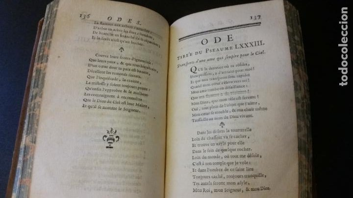 Libros antiguos: 1747 - JEAN RACIN - OEUVRES - 5 TOMOS, RACINE - Foto 8 - 270260618