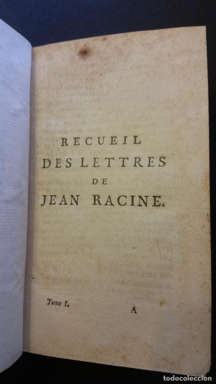 Libros antiguos: 1747 - JEAN RACIN - OEUVRES - 5 TOMOS, RACINE - Foto 12 - 270260618