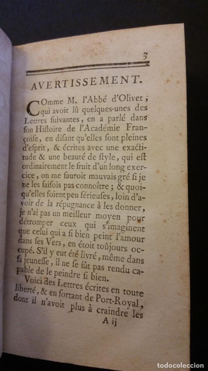 Libros antiguos: 1747 - JEAN RACIN - OEUVRES - 5 TOMOS, RACINE - Foto 13 - 270260618