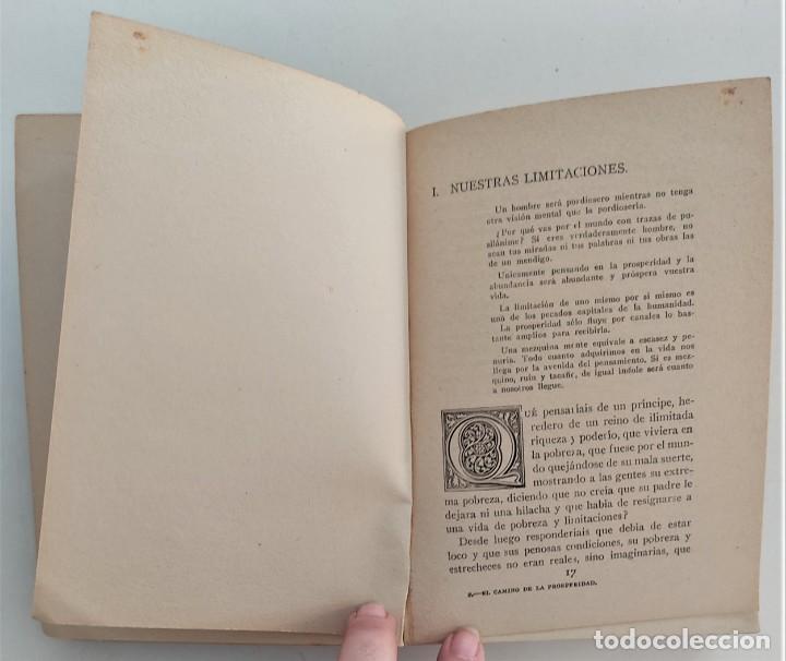 Libros antiguos: EL CAMINO DE LA PROSPERIDAD - ORISON SWETT MARDEN - ANTONIO ROCH EDITOR - BARCELONA - Foto 7 - 270516373